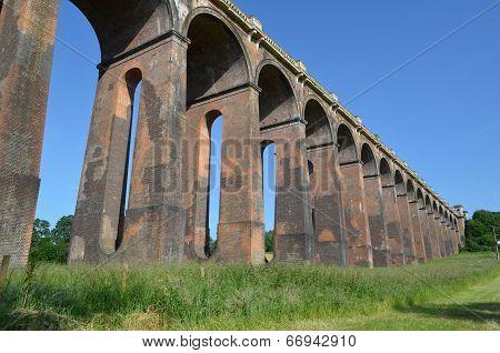 Railway viaduct.