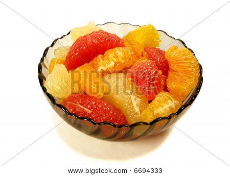 Peeled Citrus Segments