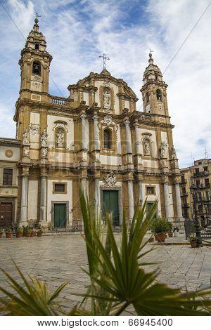 Church Of San Domenico, Palermo, Sicily