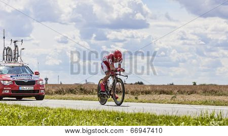 The Cyclist Eduard Vorganov
