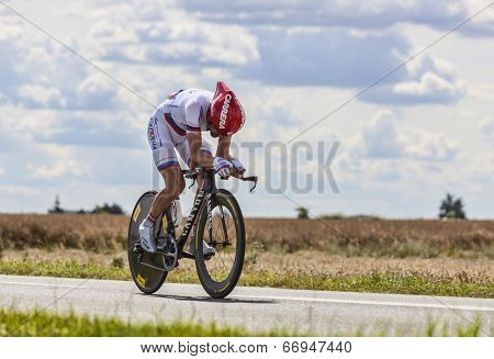 The Cyclist Denis Menchov
