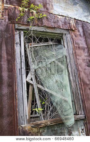 Old rusty window