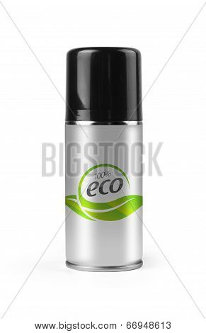 Eco spray with clipping path.