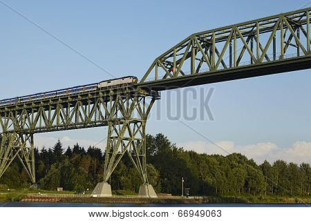 Hochdonn - Rail Bridge Over The Kiel Canal