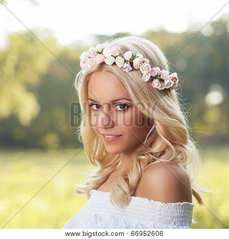 Attractive Blonde Portrait