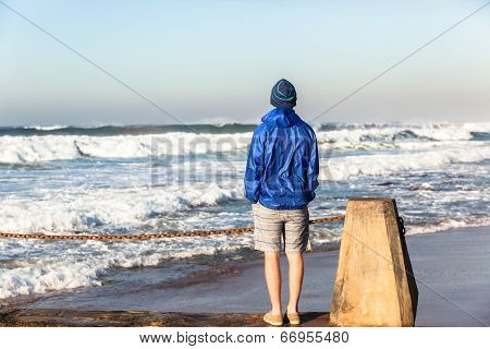 Teenage Boy Beach