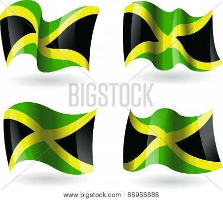 4 Flags of Jamaica