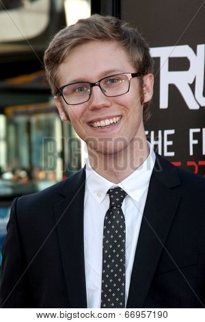 LOS ANGELES - JUN 17:  Aaron Howles at the HBO's