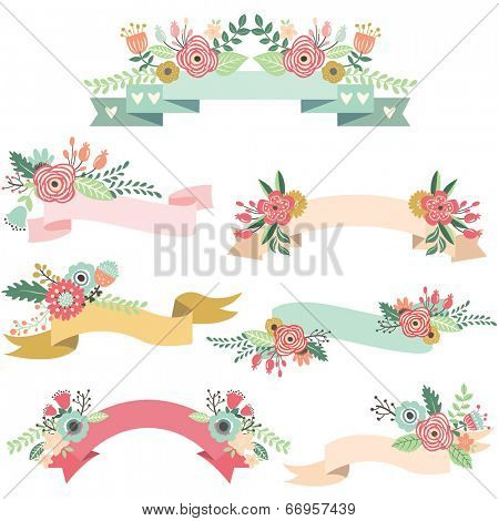 Wedding Floral Banners