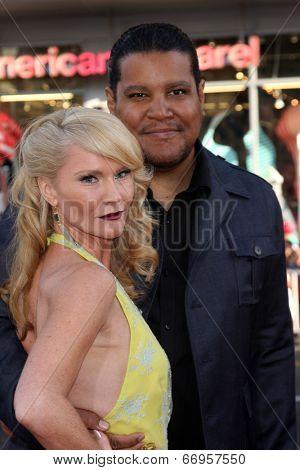LOS ANGELES - JUN 17:  Tara Buck, Chris Pierce at the HBO's