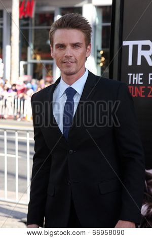 LOS ANGELES - JUN 17:  Riley Smith at the HBO's