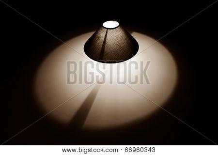 Tan Lamp