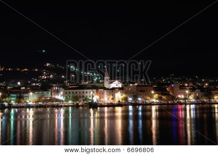 Town by night