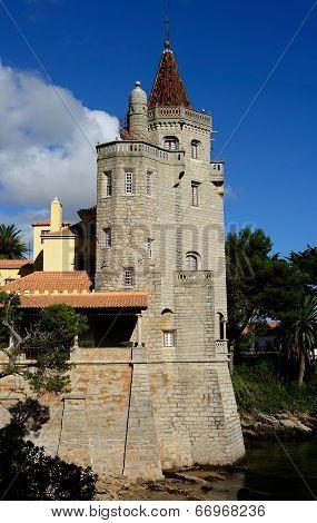 The Conde Guimaraes Castle, Cascais, Portugal