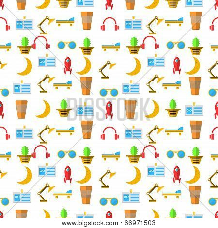 Vector background for freelance and business