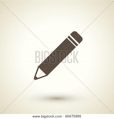 Retro Style Pen Icon