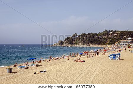 Lloret De Mar Beaches, Spain