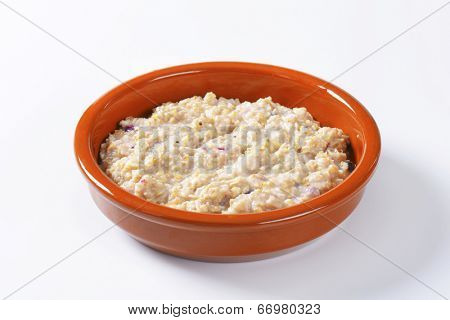 fresh natural oatmeal