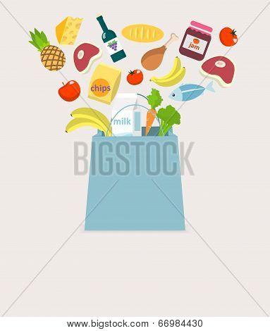 Food elements bag