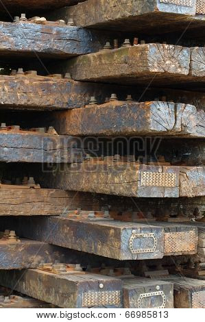 old wooden sleepers 3