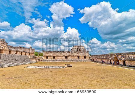Uxmal ancient mayan city, Yucatan, Mexico