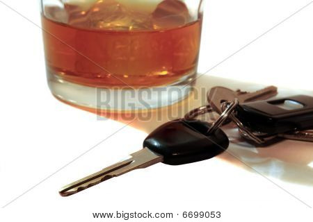 Scotch Whiskey And Car Keys