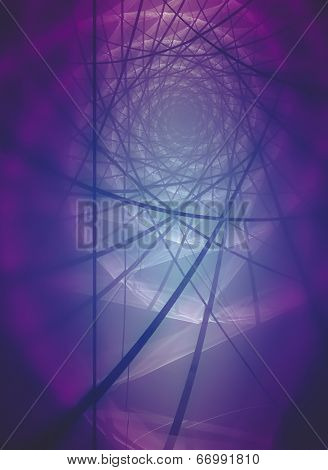 Network, Abstract fractal texture, fiber optics concept design