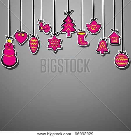 illustration of creative christmas background stock vector