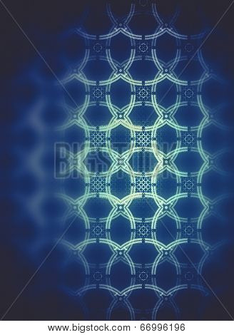 Electricity, Power concept, Abstract fractal texture, wisps and lights, Background design
