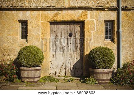Traditional Rural Homes Scene