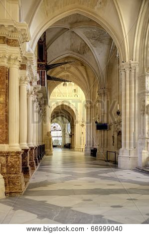 Burgos. In Cathedral Of Our Lady