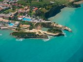 stock photo of sidari  - Aerial view on Sidari in Corfu Kerkyra Greece - JPG