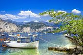 pic of lagos  - scenery of beautiful Italy series  - JPG