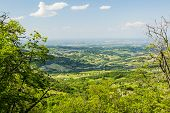 pic of apennines  - Rolling Hills of the Apennine Mountains Piacenza Italy - JPG