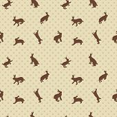 picture of hare  - hare rabbit seamless texture - JPG