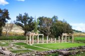 foto of artemis  - Remains of the Sanctuary of Artemis at Vravrona in Greece - JPG