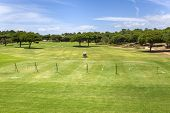 pic of vilamoura  - Training golf course in the Vilamoura Portugal - JPG