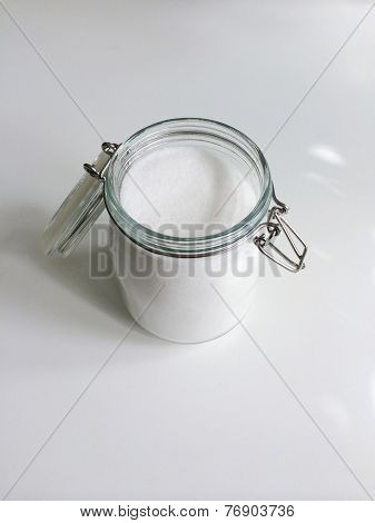 Jar Of Granulated Sugar