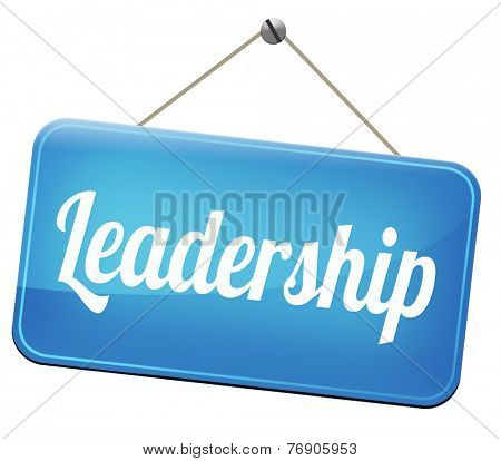 leadership follow team leader or way to success concept business leader or market leader business competition