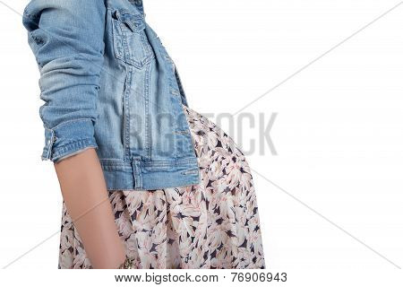 Female Pregnant Body