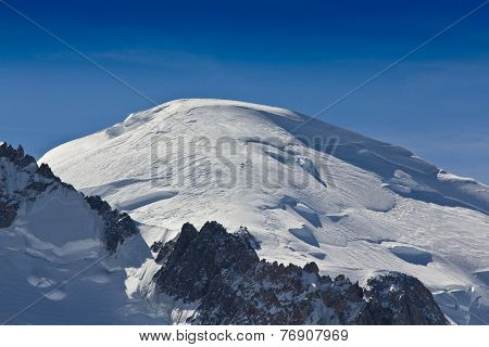 Mont Blanc Mountain Peak