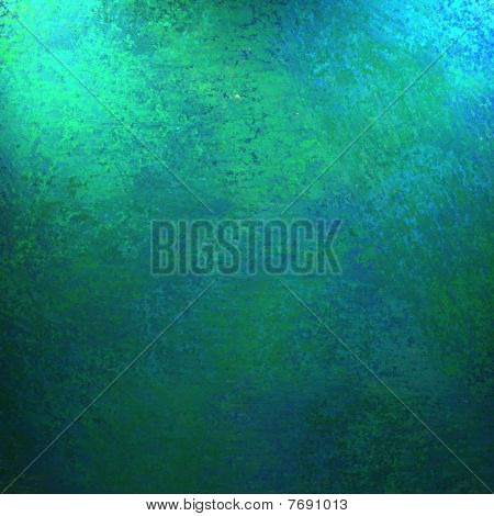 Blue Green Background or Paper