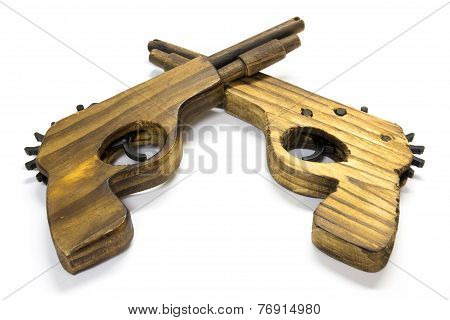 Toy Wooden Gun