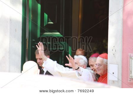POPE BENEDICT XVI VISITS  PORTUGAL  11-14 MAY