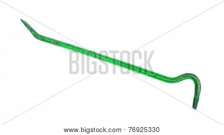 Old Green Crowbar