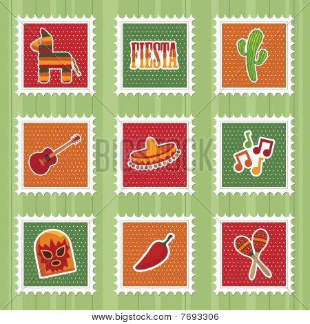 mexican stamps