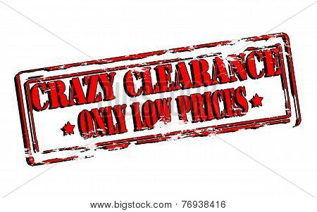 Crazy Clearance
