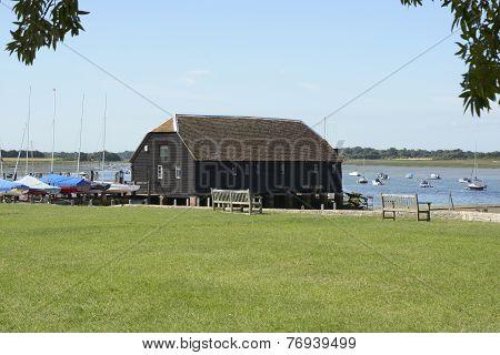 Bosham Quay. Sussex. England