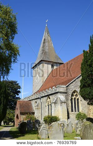 Holy Trinity Church. Bosham. Sussex. England
