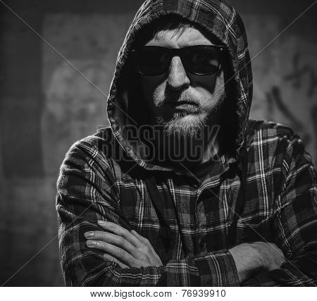 Young Man And Sunglasses